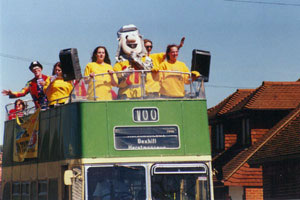 Bexhill 100 town parade
