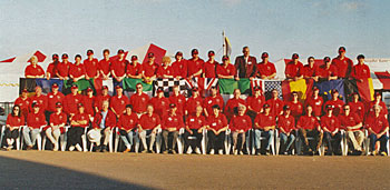 The Bexhill 100 marshals and helpers - 2000