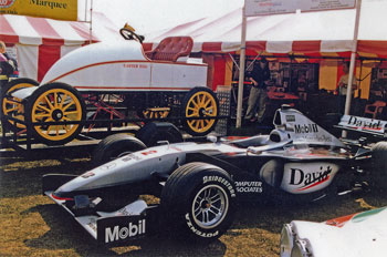 The 'Easter Egg' and David Coulthard's McLaren